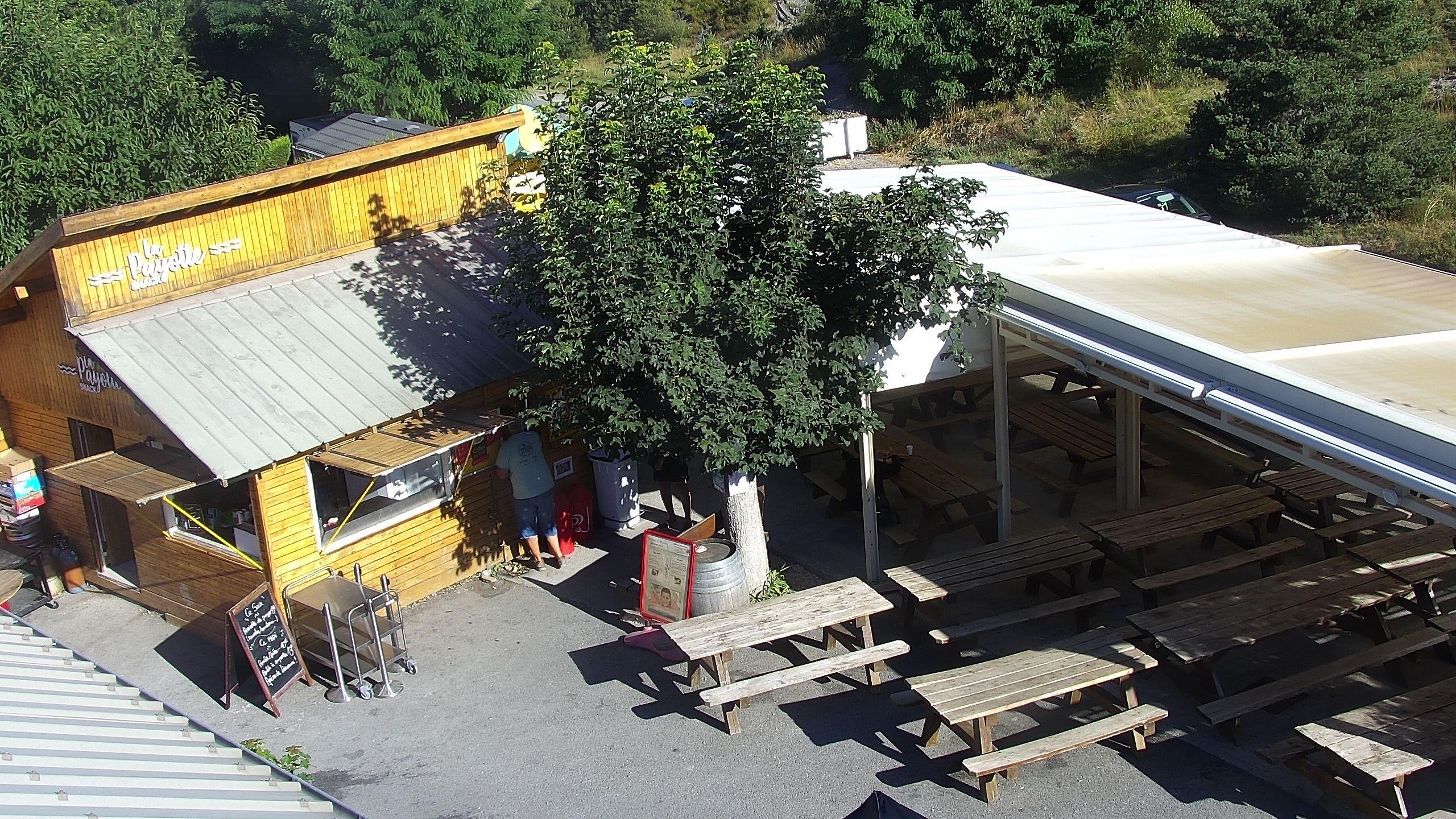 Webcam en direct du Camping du Serre du Lac -  Chorges, Serre-Ponçon, Hautes-Alpes